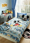 Disney Mickey Mouse Comic Strip Duvet, Cushion, Blanket, Rug & Towel Collection