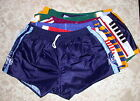 New Nylon Rugby League NRL Short 24 - 46 inch Waist 15 Designs of Footy Short