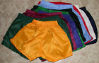 New Nylon Sport Shorts 9 Colours Size 2 to Size 24 Plain and Checkerboard Nylon