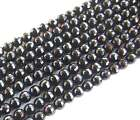 """4mm 6mm 8mm 10mm 12mm 14mm black Onyx round faceted Beads 15"""""""