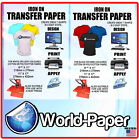 T-Shirt Transfer Paper For Any Colour of Fabric