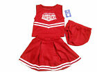 ARKANSAS RAZORBACKS 3-PIECE INFANT CHEERLEADER OUTFIT NEW