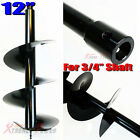 "32"" Long Gas Post Hole Earth Digger Auger Bits Bit 4 , 6 , 8 , 10 "" фото"