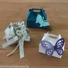10 - small Favour Boxes - Die Cuts - Party - Jewellery/Wedding/Christmas- Gifts