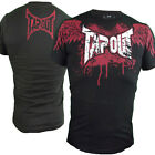 Tapout Wing Logo Blood Splatter UFC MMA Cage Fighter New Mens T Shirt