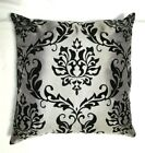 SILK GOLD EMBOSS PRINT Pillow Cushion Cover case 18 in Gift Nice Home Decoration