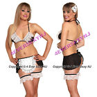 Sexy 6 Pc After Hours French Maid Costume NEW