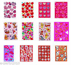 Assorted Collection of VALENTINE STICKERS ~ Scrapbook valentine's day lot