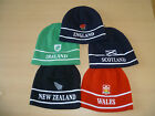 Bnwt WC Rugby Hats (Not Shirt) England,Ireland,Scotland,Wales and New Zealand