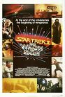 STAR TREK II THE WRATH OF KHAN Movie Poster 1982 William Shatner Sci-Fi on eBay