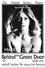 BEHIND THE GREEN DOOR Movie Poster Marilyn Chambers Sex XXX Exploitation