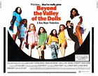 BEYOND THE VALLEY OF THE DOLLS Movie Poster 1970 Russ Meyer Explotation Sex