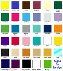 "10 Rolls 12""x24"" Oracal 651 Craft Vinyl ~ You Choose From 35 Glossy Colors"