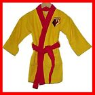 NEW BOYS GIRLS KIDS WATFORD FC TOWELLING ROBE GOWN 3-12 year RRP £20 Football