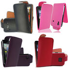 Various Color Synthetic PU Leather Magnetic Flip Case Cover for Mobile Phones