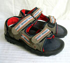 CHILDS BRAND NEW KHAKI & NAVY BRAQEEZ VELCRO SANDALS BYRON VELSAN £36