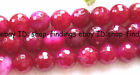 Faceted Pink Agate Round Loose Beads 15'' 6mm,8mm,10mm,12mm,14mm,16mm