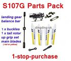 SYMA S107G RC HELICOPTER SPARE PARTS PACK --- ALL IN 1 PURCHASE  !