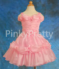 PROMOTION Organza Birthday Formal Dress Flower Girl Party Kids Size 1y-9y FG029