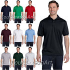 Hanes Golf Tee Blended Jersey Sport Shirt Mens Polo golf shirt S - 6XL 054X-054