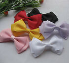 90/18pcs Lots UPick Fancy ribbon flower Bow Appliques diy hairband Wedding E45