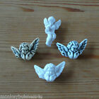 Novelty Buttons - Angel/Cherub - Christmas -Knitting/Sewing/Baby - Cards/Crafts