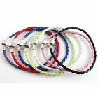 FREE SHIP 5x NEW LEATHER BRACELET CORD FIT CHARM BEADS