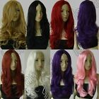 24 in. Long No-Bangs All Color Heat Resistant Curly Cosplay Wig Free Shipping