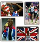 Mo Farah London 2012 GOLD Fridge Magnet Chose from 5 Images FREE POSTAGE