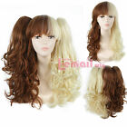 Lolita Long Wavy blend clip on ponytails cos cosplay hair Wig 3 styles C60018
