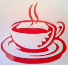 1,2,4,6 Or 12  X Coffee Tea Cup Kitchen, Tile, Wall, Window Stickers /decals