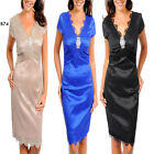 B74 New Chic Wedding Cocktail Evening Party Race Misses Dress Plus Size 16 18 20