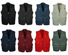 uksp mens utility multi pockets hunting fishing shooting hiking vest waistcoat