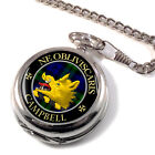 Campbell Scottish Clan Pocket Watch