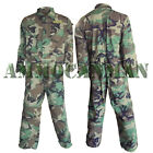 US Military Mechanics Coveralls Woodland Camo Previously Issued