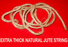 EXTRA CHUNKY THICK JUTE STRING TWINE CORD FOR SHABBY CHIC CRAFTS DECORATIONS etc