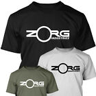 ZORG INDUSTRIES The Fifth Element  Cult Sci Fi Movie  Mens T SHIRT Bruce Willis
