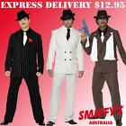 ADULTS MENS 1920S GANGSTER MAFIA/ZOOT SUIT OUTFIT SMIFFYS FANCY DRESS COSTUMES