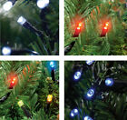 80, 160 or 200 Multi Function LED Christmas Lights in Red, White, Blue or Multi