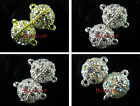 Crystal Rhinestone Charms Ball Strong Magnetic/Magnet Connectors Clasp 14x11mm