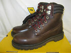 CATERPILLAR MENS COFFEE LEATHER LACE UP ANKLE BOOT - LIBRETTO