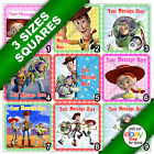 Toy Story Woody Buzz Jessie Edible Picture Icing Sheet Square Cake Topper a