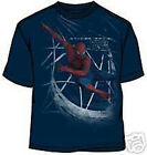 Spider Man Just Swinging NAVY BLUE Youth T-shirt