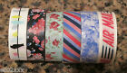 Japanese Washi Masking Craft Deco Tape 5m Choice of 6 Designs Christmas Postage