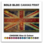 Union Jack Abstract FLAGS  Canvas Art Print Box Framed Picture Wall Hanging BBD