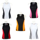 Womens Ladies Cool Tex Sports Running Vest Top 5 colours Size 8 10 12 14 16