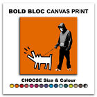 Choose Your Weapon Dog BANKSY HD  Canvas Art Print Box Framed Picture BBD