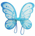 "3pc 14""x15"" Fairy Angel Butterfly Wings Infant Toddler Child Costume TOY GIFT"