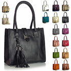 New Designer Boutique Satchel with Make up Purse Two in One Shoulder Handbag