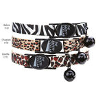 East Side Collection Animal Print Stylish Cat Collars Breakaway Trendy Collar